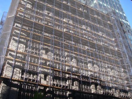 ニューヨークの外構工事3