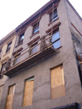 ニューヨークの外構工事1