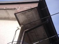 鼻隠し・破風板部分の木部補修工事2