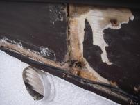 鼻隠し・破風板部分の木部補修工事9