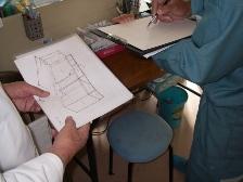 病院の院内改修工事1