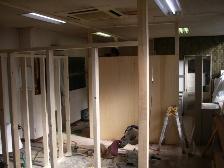 病院の院内改修工事6