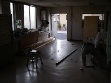 病院の院内改修工事4
