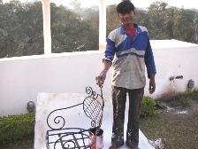 インドで出会ったペンキ屋さん