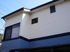 サインディング塗装施工後1