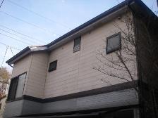 サインディング塗装施工前1