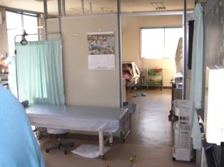 病院の院内改装工事施工前