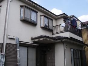 ふじみ野市外壁塗装施工前写真