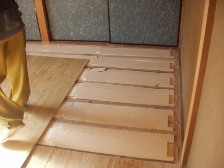 畳をフロアにリフォーム5