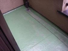 FRP防水の工事1