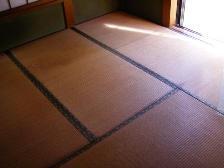 15年経過した畳