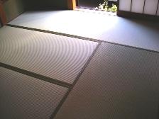 新品畳を設置