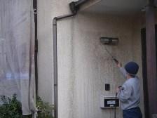外壁高圧洗浄2