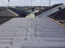 トタン屋根塗装施工前