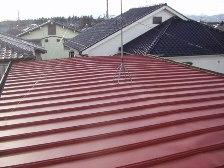 トタン屋根錆止め塗装