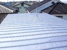 トタン屋根塗装施工後