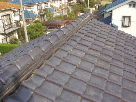日本瓦漆喰土塗り・瓦用雪止め工事15