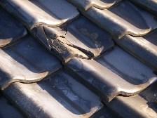 瓦屋根の劣化、破損