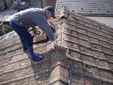セメント瓦屋根の葺き替え工事2