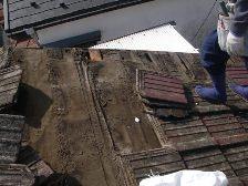 セメント瓦屋根の葺き替え工事3