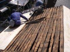 セメント瓦屋根の葺き替え工事6