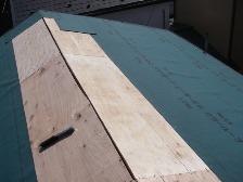 セメント瓦屋根の葺き替え工事7