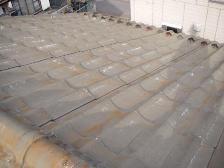 U瓦屋根塗装工事、施工前3