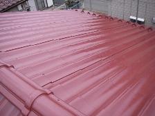 U瓦屋根塗装工事、施工後3