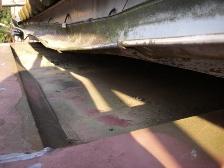 トタン屋根の構造を変えた板金工事と雨樋交換工事施工前