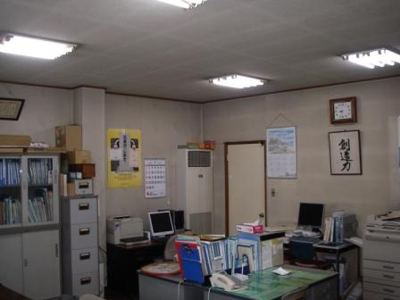 事務所ボード工事・クロス張替え施工前