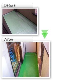 部分工事価格一覧|FRP防水工事ベランダ部分|埼玉県|外壁塗装