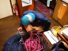 ゴキブリ駆除、床下現地調査3
