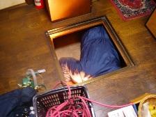 ゴキブリ駆除、床下現地調査4