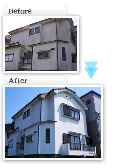 工事施工価格一覧K亭|富士見市|外壁塗装