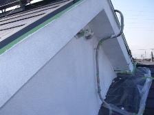 コロニアル屋根塗装中塗り7