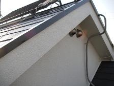 コロニアル屋根塗装中塗り施工完了