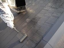 コロニアル屋根塗装上塗り2
