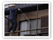 塗装|埼玉はナイガイセルフへ|水洗い工事|実例写真