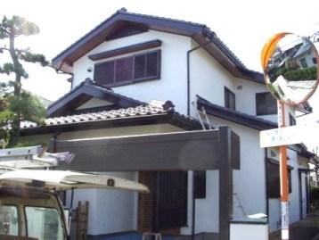 ふじみ野市のお客様宅、木部塗装|施工完了|埼玉県|外壁塗装
