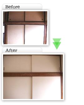 部分工事価格一覧|押入れ襖からけ健具交換工事|埼玉県|外壁塗装