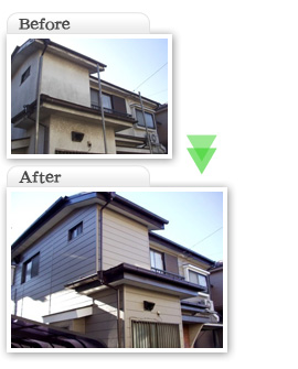 部分工事価格一覧|サイディング外壁工事|埼玉県|外壁塗装