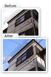 塗装|埼玉はナイガイセルフへ|施工工事実例写真3
