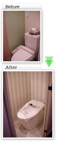 部分工事価格一覧|トイレ交換工事|埼玉県|外壁塗装