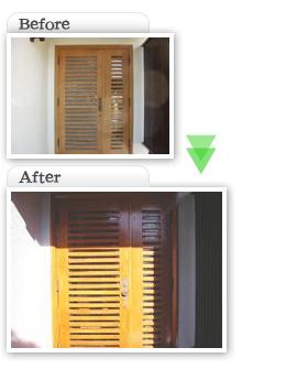 部分工事価格一覧|玄関扉塗装|埼玉県|外壁塗装