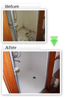部分工事価格一覧|シャワールーム塗装|埼玉県|外壁塗装