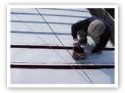 塗装|埼玉はナイガイセルフへ|トタン屋根塗装|実例写真