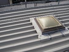 トタン屋根、錆止め塗装前