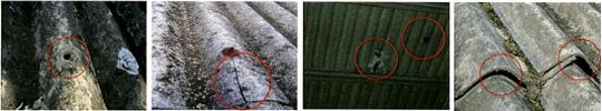 遮熱塗装のナイガイセルフ|現状画像二